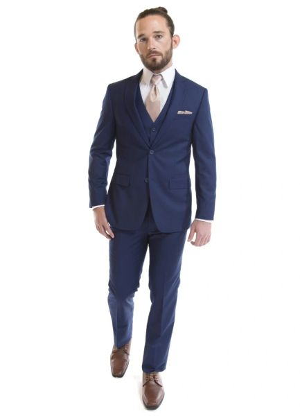 DAVID MAJOR FRENCH BLUE SUIT 5201