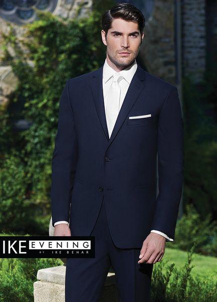 IKE Behar Evening Navy 'Collins' Suit N016