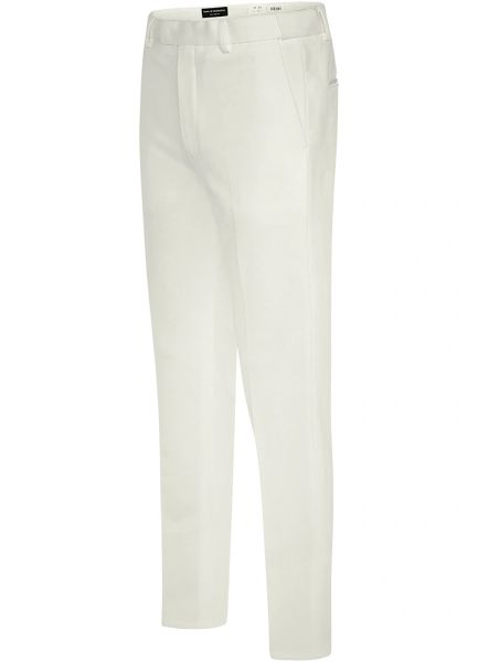 EURO-SLIM KNIT STRETCH IVORY PANT 6613