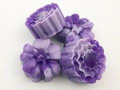 Lavender Swirl Glycerin Body Soap
