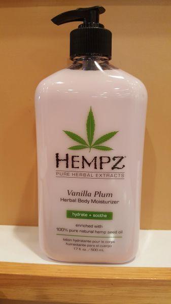 Hempz Vanilla Plumb Herbal Body Moisturizer