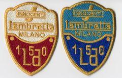 Vintage Style Lambretta LD Patch 7cm
