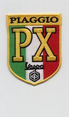 """Vintage Style """"PX"""" Vespa Scooter Patch 7cm"""
