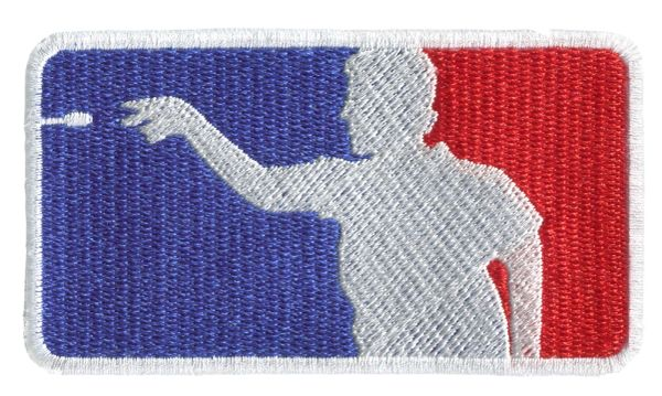 Darts USA Silhouette Patch 9.5cm x 5.5cm