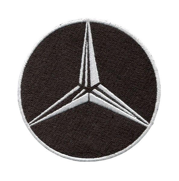 Mercedes Benz AMG Patch 8cm (2 Colors Inside)