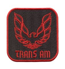 Vintage Style Trans Am Patch 8cm x 8cm
