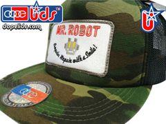 smart-patches Mr. Robot Trucker Hat (Camo)