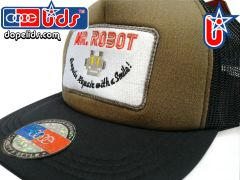 smart-patches Mr. Robot Trucker Hat (OD/Black)