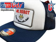smart-patches Mr. Robot Trucker Hat (Navy/White)
