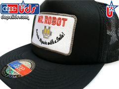 smart-patches Mr. Robot Trucker Hat (Solid Black)