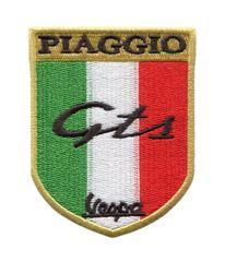 """Vintage Style """"GTS"""" Vespa Scooter Patch 8cm"""