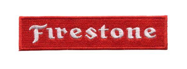 Vintage Style Firestone Patch 12cm
