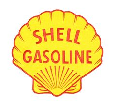Shell Gasoline XXL Vintage Style Patch 30cm (8cm also available)