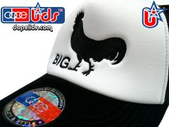 """smartpatches """"Big Cock"""" Vintage Style Trucker Hat"""