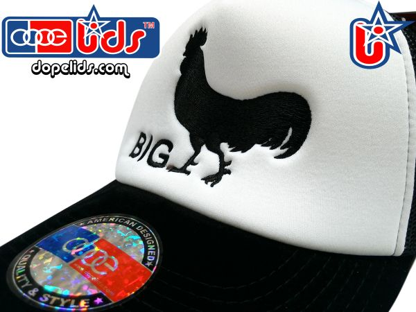 "smartpatches ""Big Cock"" Vintage Style Trucker Hat"