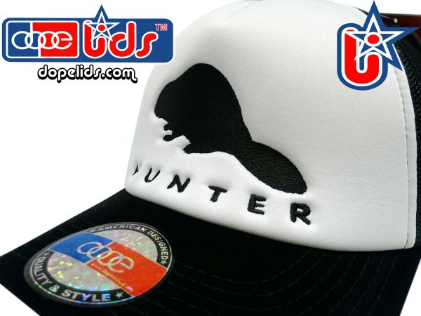 "smartpatches ""Beaver Hunter"" Vintage Style Trucker Hat"