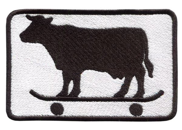 Skater Cow Skater Patch 9.5cm x 6.5cm