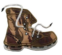 Large Combat Boot Patch 13cm x 10cm (2 sizes available)