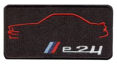 Vintage Style M6 e24 Patch Badge 9cm x 5cm