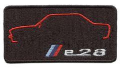 Vintage Style M5 e28 Patch Badge 9cm x 5cm