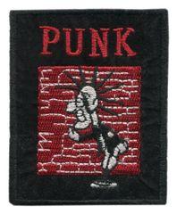 Vintage Style Punk Rock Patch 8cm