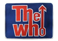 """XXL Vintage Style """"The Who"""" Rock Patch 30cm"""