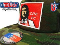 """smARTpatches Truckers """"Che FC"""" Che Guevara Camo Trucker Hat"""