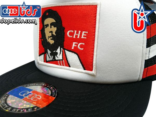 "smARTpatches Truckers ""Che FC"" Che Guevara Trucker Hat"