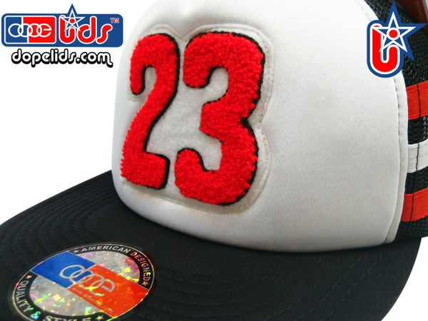 "smARTpatches Truckers ""23"" Chenille 23 Vintage Style Trucker Hat"