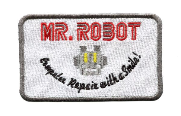 Mr. Robot Patch fsociety XXL Size 30cm (12 inches)