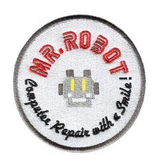 Mr. Robot Patch fsociety 8cm (Something Different- Round)
