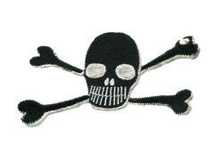 Skull Patch 12cm