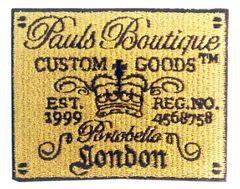 Vintage Style Pauls Botique Patch 8cm