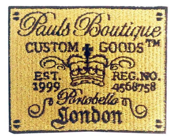 Vintage Style Pauls Botique Patch 8cm