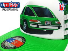 smARTpatches Truckers 79eighty AMC Pacer Vintage Style Trucker Hat