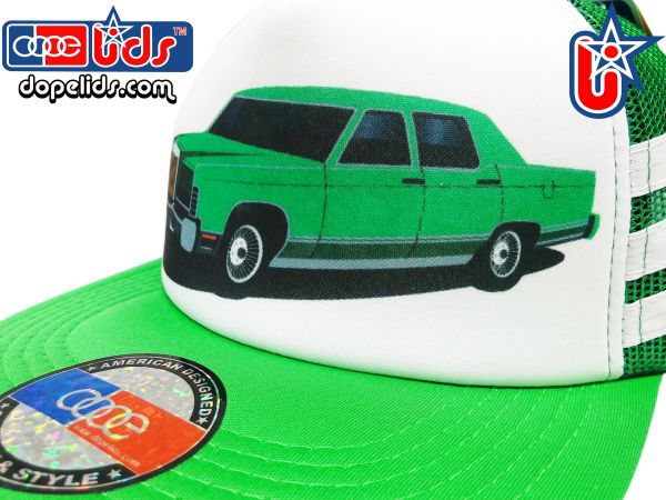 smARTpatches Truckers 79eighty 70's Big Car Vintage Style Trucker Hat