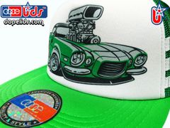 smARTpatches Truckers 79eighty Vintage Style Hot Rod Trucker Hat