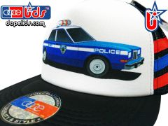 smARTpatches Truckers 79eighty Police Car Vintage Style Trucker Hat