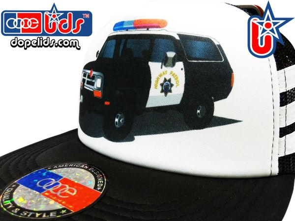 smARTpatches Truckers 79eighty Police Car Truck Vintage Style Trucker Hat