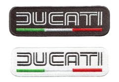 Ducati Patch Italy Motorcycle Sportbike Patch 11cm