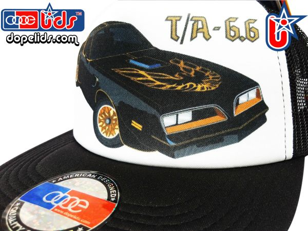 smARTpatches Truckers 79seventy Trans Am T/A Trucker Hat