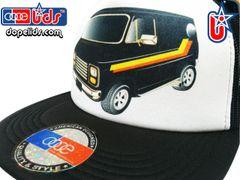 smARTpatches Truckers 79seventy Custom 70's Van Trucker Hat