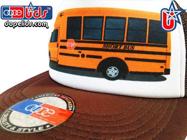 smARTpatches Truckers 79seventy Short School Bus Trucker Hat