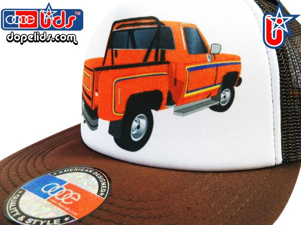 smARTpatches Truckers 79seventy 70's Pickup Truck Trucker Hat