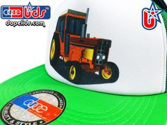 smARTpatches Truckers 79eighty Tractor Vintage Style Trucker Hat