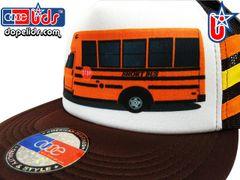 smARTpatches Truckers 79eighty Short School Bus Trucker Hat