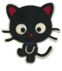 Cat Kitty Patch Cute Big Eyes 11cm