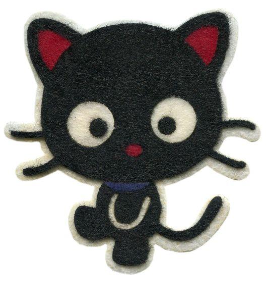 Cat Kitty Patch Cute Big Eyes 11cm