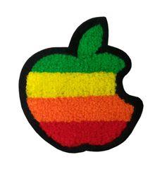 Chenille Apple Patch (10cm)