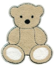 Extra Large Chenille Teddy Bear Patch (23cm)